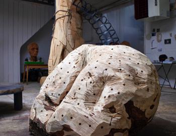sculpture 'Fesses'