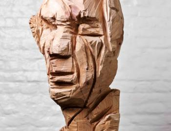 Annabelle Hyvrier, Damien Huyghebaert, oak, Ht: 65cm, 2012