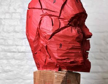 Annabelle Hyvrier, Mario Ferretti, oak, Ht: 75cm, 2012