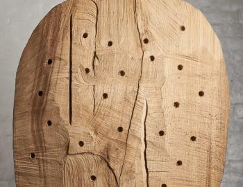 Annabelle Hyvrier, 'Handsome', 2017, chestnut tree, ht: 70cm, l: 67cm