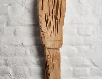 Annabelle Hyvrier, 'Spoon hand', 2017, cedar, ht:86 cm, l:18cm
